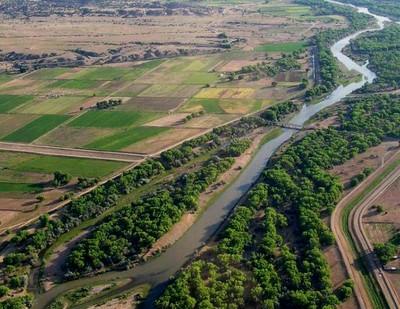Aerial view Rio Grande