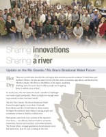 Sharing Innovations for Sharing a River